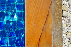 Pool edge Stock Photography