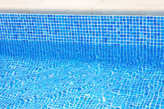 Pool edge Royalty Free Stock Photo