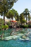 Pool in een Hierapolis, Turkije Royalty-vrije Stock Fotografie