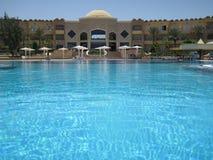 Pool  in egypt Stock Photos