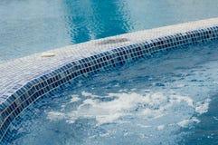 Pool en Jacuzzi Stock Fotografie