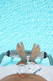 Pool Feet 1 Royalty Free Stock Images
