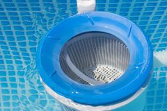 Pool filter Royalty Free Stock Images