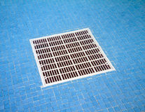 Pool Filter Underwater Royalty Free Stock Images