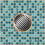 Pool floor Stock Photo
