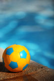 Pool football Royalty Free Stock Images