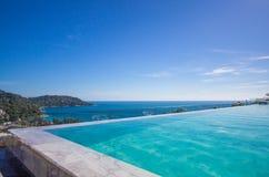 Pool fringe the sea Royalty Free Stock Photography