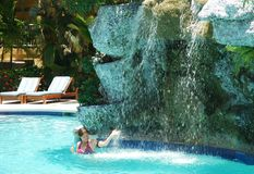 Free Pool Fun Royalty Free Stock Photos - 25706958