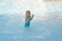 Pool Fun Royalty Free Stock Images