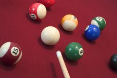 Pool Game Stock Image