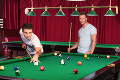 Pool game. Royalty Free Stock Photo