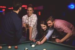 Pool game Royalty Free Stock Photos