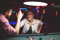 Pool game Royalty Free Stock Image