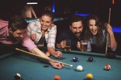 Pool game Royalty Free Stock Photo