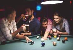 Pool game Stock Photos