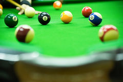 Pool game Stock Photography