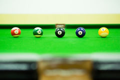 Pool game Stock Photo