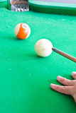 Pool game Royalty Free Stock Images