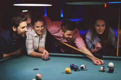 Pool game Royalty Free Stock Photo