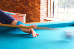Pool game Stock Images