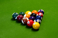 Pool Game - Pocket Billiards Stock Photography