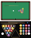 Pool Game Stock Image