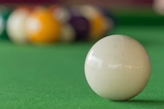 Pool Games. Fifteen Ball in Pool Games Royalty Free Stock Photography