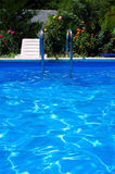 Pool at the garden. Stock Photography
