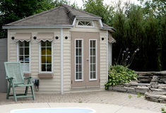 Pool Gazebo Stock Photography