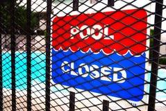 Pool geschlossen Stockbilder