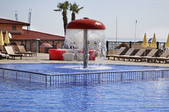 Pool in Golden Sands. Bulgaria Stock Photos