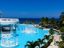 Pool, Grand Palladium-Jamaica Stock Images