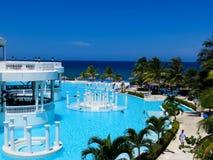 Pool, Groot palladium-Jamaïca stock afbeeldingen