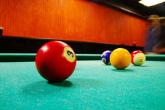 Pool hall Royalty Free Stock Photos