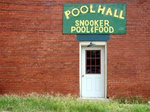 Pool Hall Lizenzfreies Stockbild