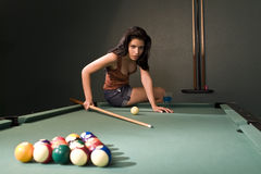Pool Hall Beauty Royalty Free Stock Image