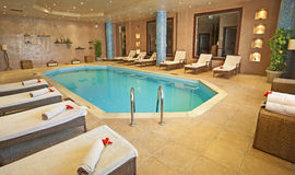 Pool in a health spa Stock Photos