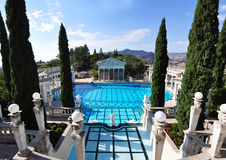 The Pool at Hearst Castle Royalty Free Stock Photography