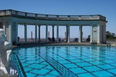 Pool at Hearst Castle Royalty Free Stock Photo