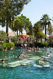Pool in a Hierapolis, Turkey Royalty Free Stock Photography