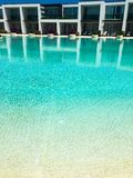 Pool and hotel royalty free stock images