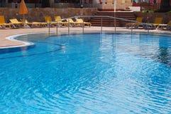 Pool hotel. Hotel pool in Corralejo, Fuerteventura, Canary Islands Stock Photography