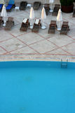 Pool in hotel Royalty Free Stock Image