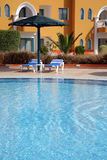 Pool in hotel Stock Photography