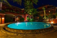 Pool in hotel on island Bali Indonesia Stock Photography