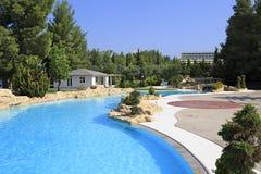 Pool of Hotel Porto Carras Meliton. Royalty Free Stock Image