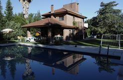 Pool House Stock Photos