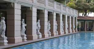 Pool im Biltmore Hotel, Coral Gables, Florida Stockfotos