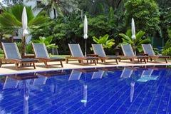 Pool im Hotel Lizenzfreie Stockbilder