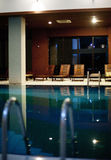 Pool In The Spa Center Stock Image